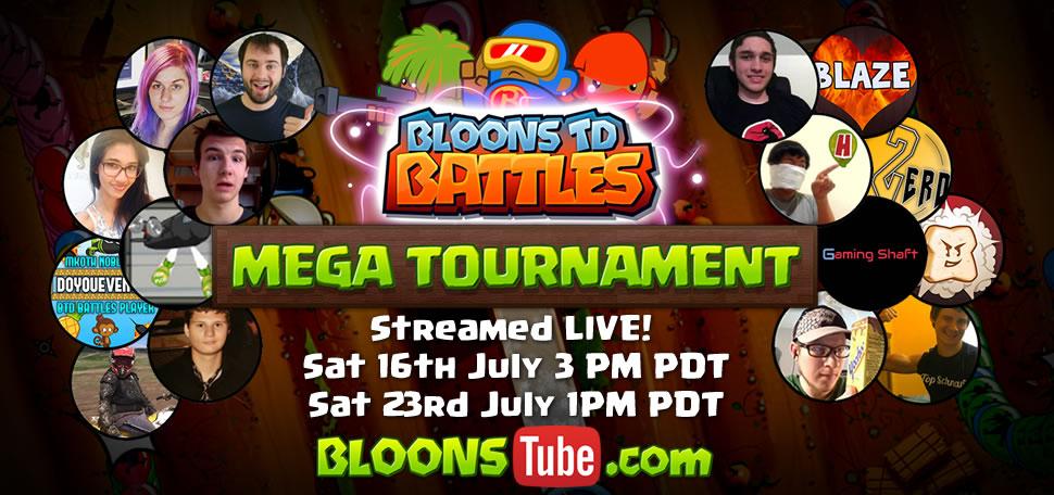 Bloons TD Battles Tournament